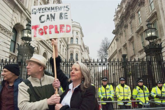 Governments can be toppled